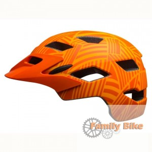 Kask BELL SIDETRACK JUNIOR MATTE TANK ORANGE