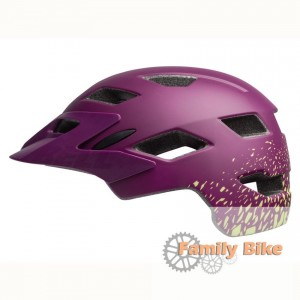 Kask BELL SIDETRACK JUNIOR MATTE PLUM