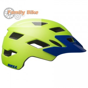 Kask BELL SIDETRACK JUNIOR GREEN BLUE