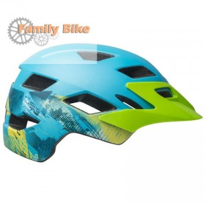 Kask BELL SIDETRACK JUNIOR BLUE GREEN