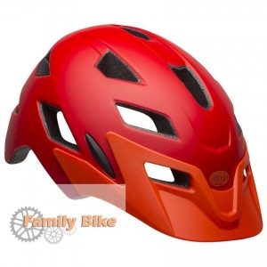 Kask BELL SIDETRACK JUNIOR MATTE RED ORANGE