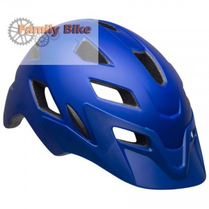 Kask BELL SIDETRACK JUNIOR T-REX BLUE