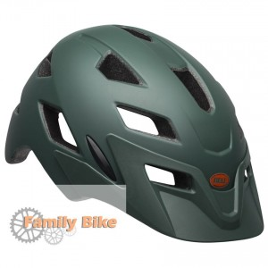 Kask BELL SIDETRACK JUNIOR MATTE DARK GREEN