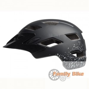 Kask BELL SIDETRACK JUNIOR MATTE BLACK SILV